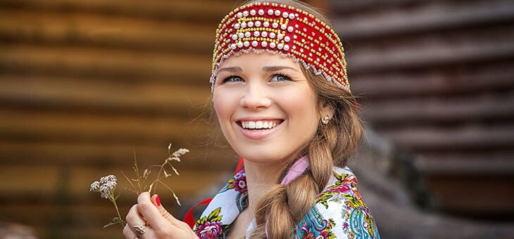 Русские красавицы во всем мире славятся!