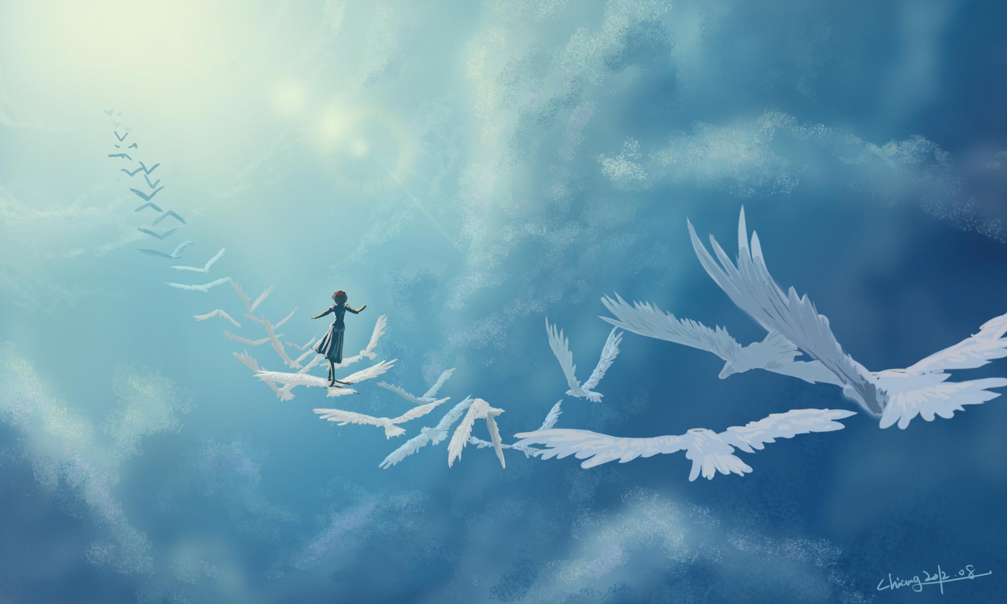 которая лететь на крыльях любви картинки друзья